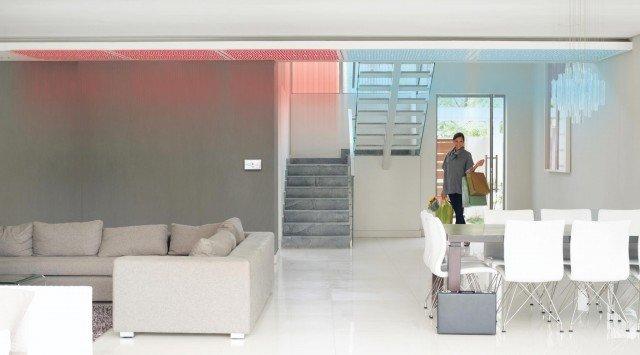 soffitto parete radiante