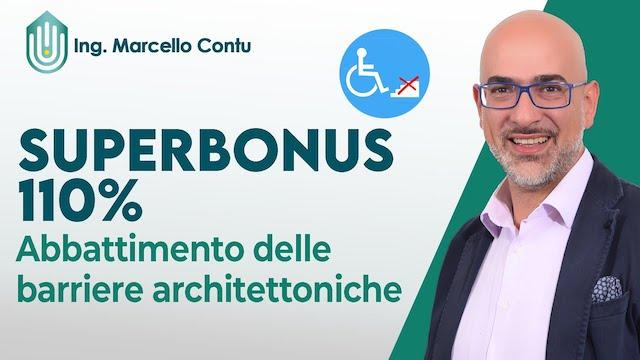 Superbonus 110% Abbattimento delle barriere architettoniche